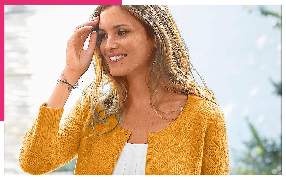 Jak nosit trendy žlutou? Inspirujte se našimi kombinacemi!
